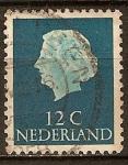 Sellos del Mundo : Europa : Holanda : La reina Juliana.
