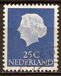 Sellos de Europa - Holanda -  La Reina Juliana.