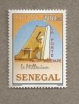 Stamps Senegal -  La puerta del milenario