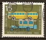 Sellos del Mundo : Europa : Alemania : Exposición Internacional de Transporte 1965 en Munich.
