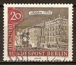 Sellos del Mundo : Europa : Alemania : Antiguo de Berlín
