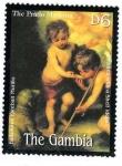 Sellos del Mundo : Africa : Gambia : Pintura Española