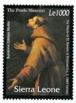 Stamps Africa - Sierra Leone -  Pintura Española