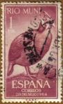 Sellos de Europa - España -  RIO MUNI - Dia del sello