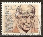 Sellos de Europa - Alemania -  100a Aniv del nacimiento de Friedrich von Bodelschwingh(Teólogo).
