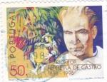 Sellos de Europa - Portugal -  escritor Ferreira de Castro
