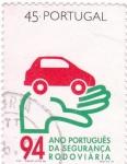 Stamps Portugal -  año portugues de seguridad viaria