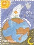Sellos de Europa - Portugal -  sol y futuro