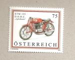 Stamps Austria -  Motocicleta KTM 125
