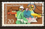 Stamps Germany -  Por orden superior y la seguridad (DDR).