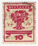 Stamps Europe - Germany -  Republic National Assembly Issue