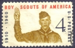 Stamps United States -  Scouts de America