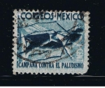 Stamps Mexico -  Campaña contra el Paludismo