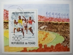 Stamps Africa - Chad -  Juegos Olimpicos Montreal 1976.