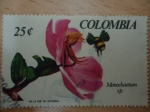 Stamps Colombia -  Monochaetum