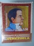 Stamps Venezuela -  Bic.de la Ind.República Bolivariana de V/zuela(José Mª Ramirez-firmante del Acta)