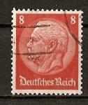 Stamps Germany -  Hindenburg.