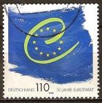 Sellos de Europa - Alemania -  50a Aniv del Consejo de Europa.