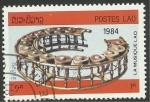 Stamps Laos -  Instrumento musical de percusión