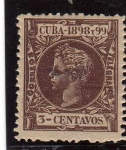 Stamps : America : Cuba :  cuba epoca colonial española