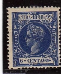 Stamps America - Cuba -  cuba epoca colonial española