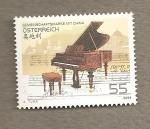 Sellos de Europa - Austria -  Piano, sello en comunidad con China