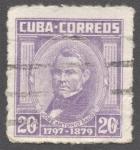 Stamps Cuba -  Jose Antonio Saco 1797-1879