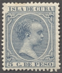 Stamps Cuba -  Alfonso XIII