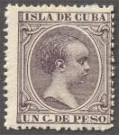 Sellos de America - Cuba -  Alfonso XIII