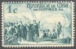 Stamps America - Cuba -  Republica de Cuba 1492 1936