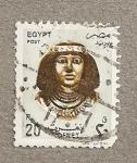 Sellos del Mundo : Africa : Egipto : Reina Nofret