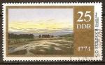 Sellos de Europa - Alemania -  200a Cumpleaños Caspar David Friedrich-Pintor (DDR)