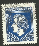 Stamps Poland -  Chopin