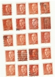 Stamps Spain -  F. Franco
