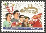 Stamps North Korea -  1776 C - 72 anivº del presidente Kim II Sung