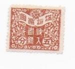 Sellos de Asia - China -  compañeros sabeis algo de este sello