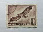 Stamps Austria -  Aguila ratonera.