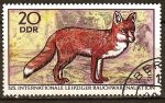 Sellos de Europa - Alemania -   Subasta internacional del tabaco de Leipzig: el zorro rojo(DD)
