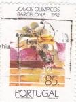 Stamps Portugal -  juegos olimpicos Barcelona 1992