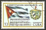 Stamps of the world : Cuba :  1911 - Constitución Socialista