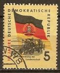 Sellos de Europa - Alemania -  10a de la DDR.Mecanización de la agricultura.