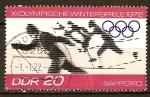 Sellos del Mundo : Europa : Alemania : XI.Juegos Olímpicos de Invierno 1972, en Sapporo, Japón-DDR.