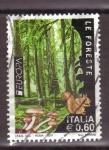 Sellos de Europa - Italia -  serie- bosques