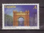 Stamps Spain -  serie- arcos y puertas monumentales