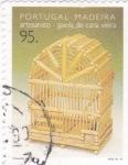 Stamps Portugal -  Madeira-artenania jaula