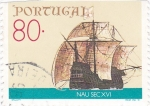 Stamps Portugal -  nave siglo XVI