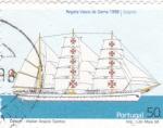 Sellos de Europa - Portugal -  Regata Vasco de Gama-Sagres