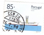Stamps of the world : Portugal :  Madeira-barcos