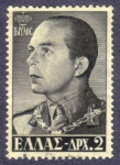 Stamps Europe - Greece -  rey Pablo I de Grecia