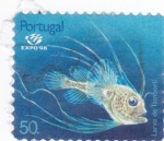 Stamps Portugal -  Expo-98